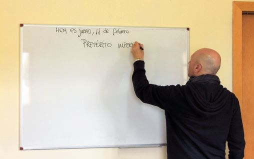 Our private spanish classes are a great for people that want to learn spanish alone. #LearnSpanish #SpanishSchool