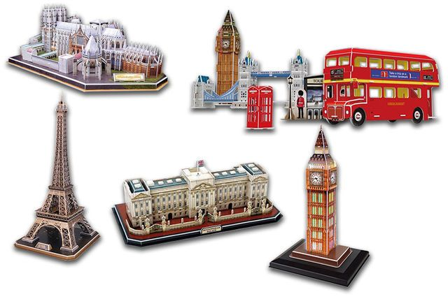 3D Jigsaw Puzzle - 5 Designs!