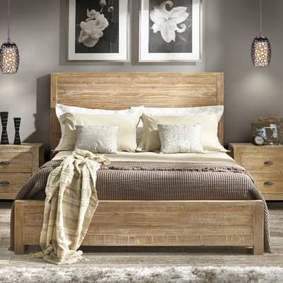 Bedroom Ideas Light Wood Furniture best 25+ wooden beds ideas only on pinterest | rustic wood bed