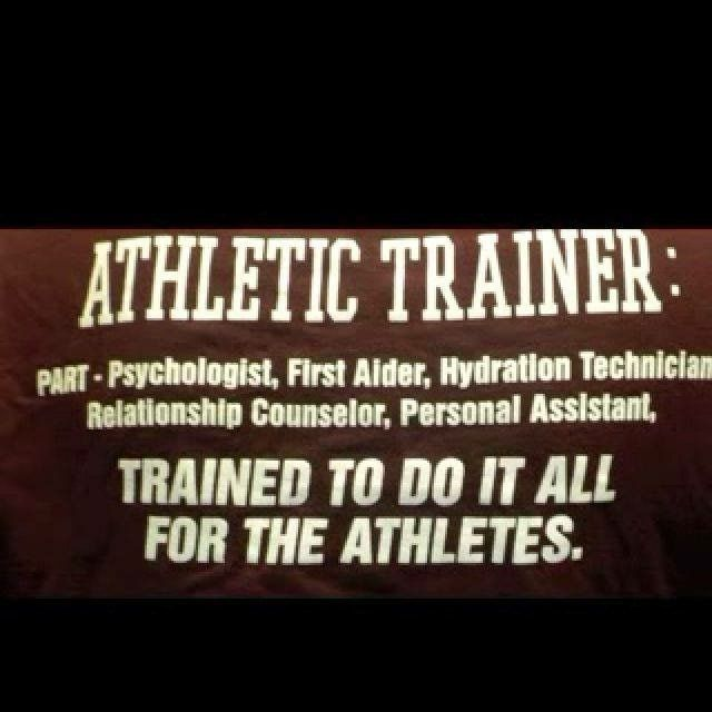athletic trainers dating athletes