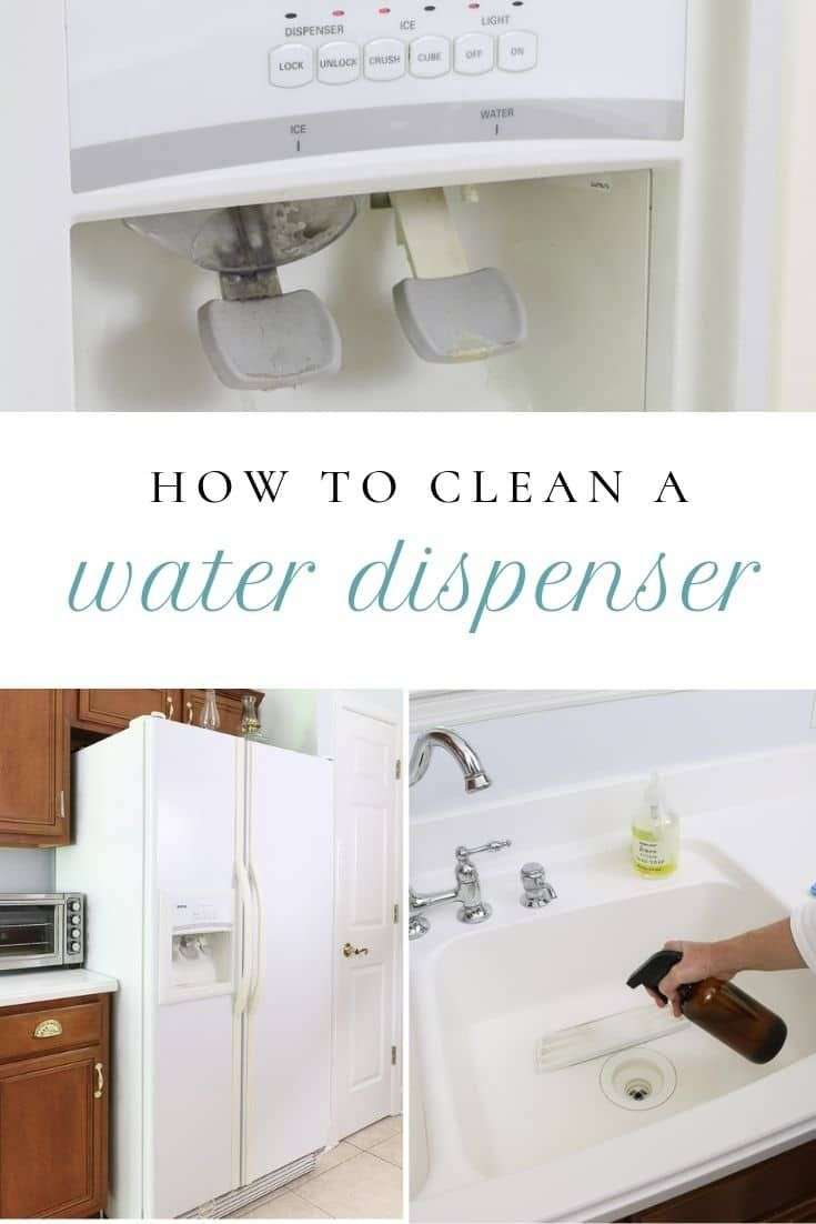 How to clean fridge water dispenser and ice maker clean