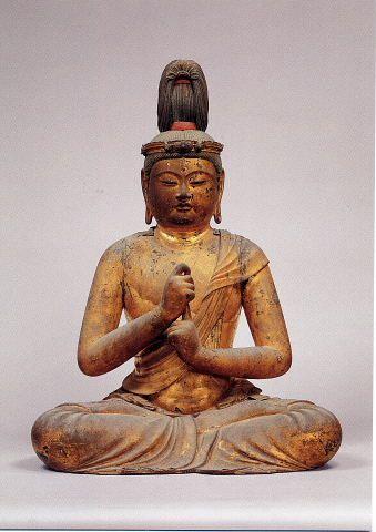 Dainichi Nyorai statue by Unkei (unknown-1224), Japan: property of Tokyo…
