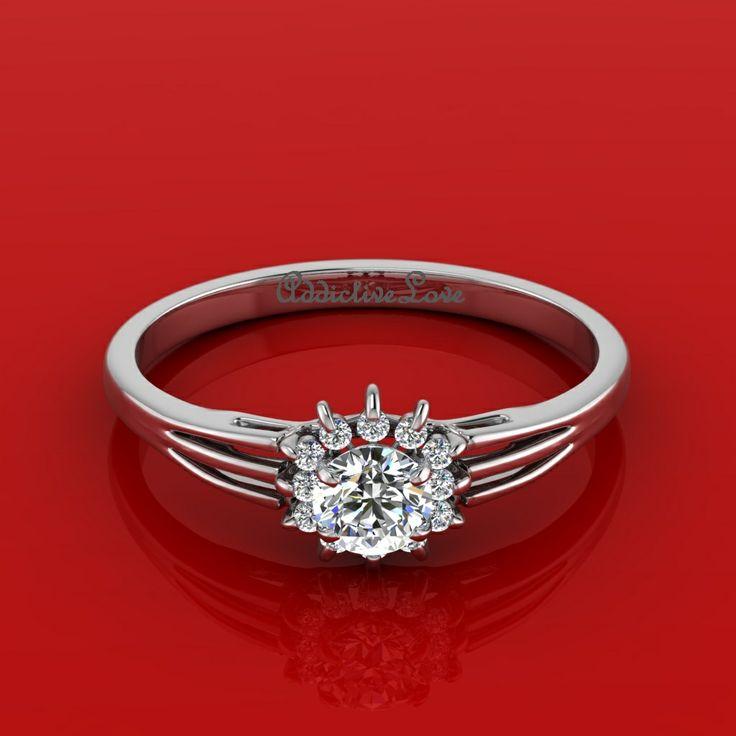Diamond Rings Under 100 18kt Gold Designer Manmade 36 2ct Flower Ring Earrings Necklace