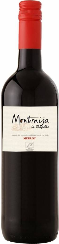 Biologische Merlot. Soepele rode wijn van granaat kleur met paarse tinten. Aroma's van rood fruit van bramen en frambozen. Met een prettige, soepele, fruitige smaak welke warm eindigt.