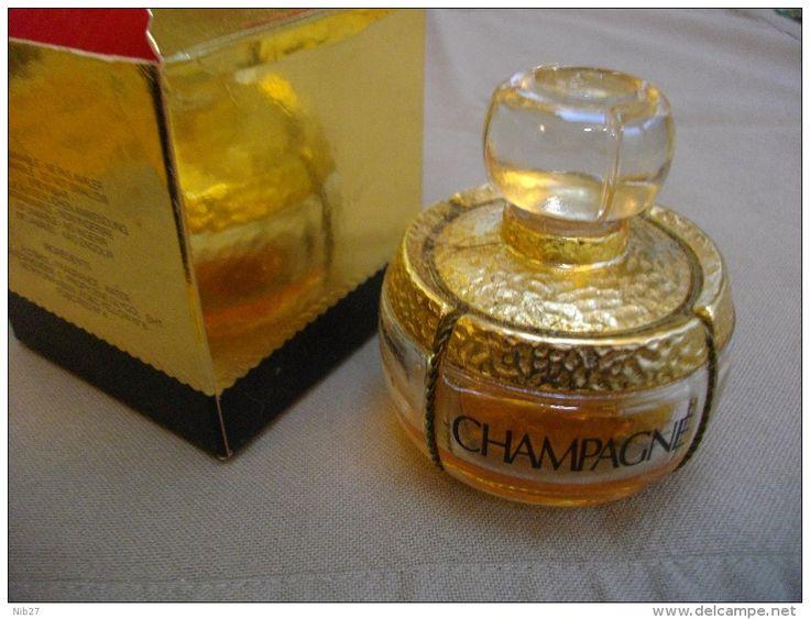 flacon parfum CHAMPAGNE (Yves Saint-Laurent) + boîte - Delcampe.net
