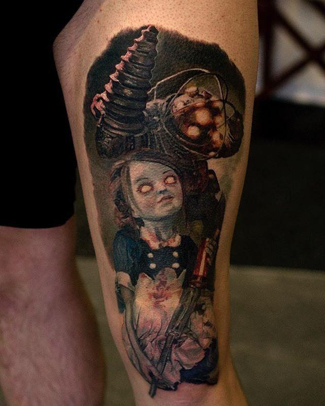 17 best ideas about bioshock tattoo on pinterest for Bioshock wrist tattoo