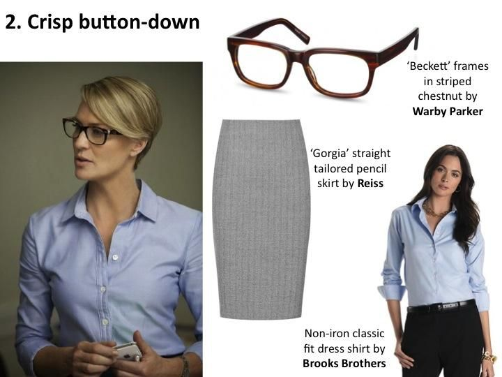 House of Cards Fashion: Claire Underwood's Corporate Style