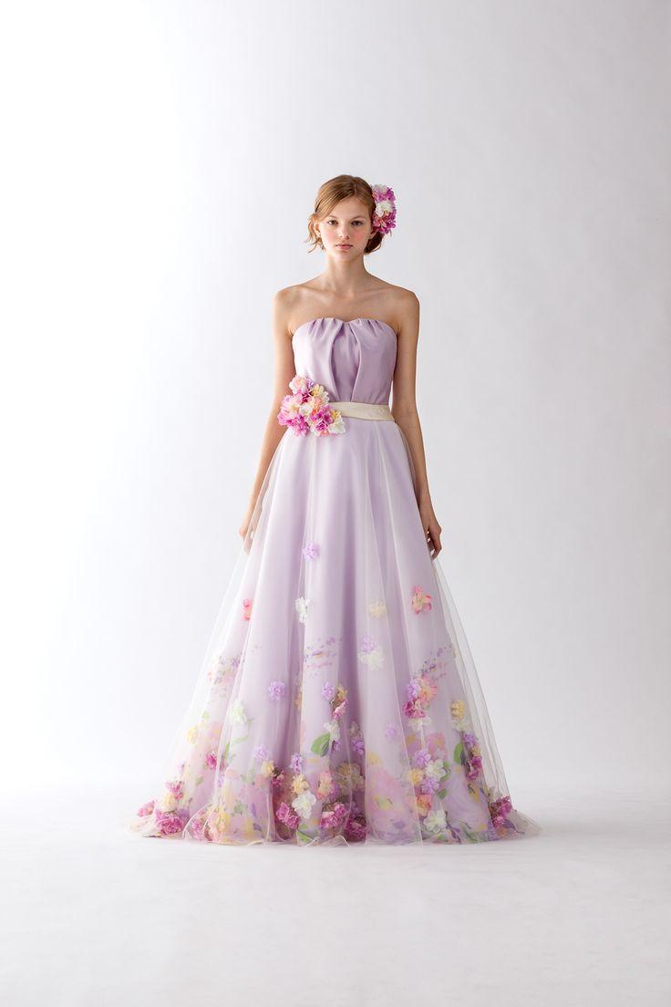 カラードレス|ウェディングドレス、和装ならヴュパリ|ララシャンス|#Color #Wedding