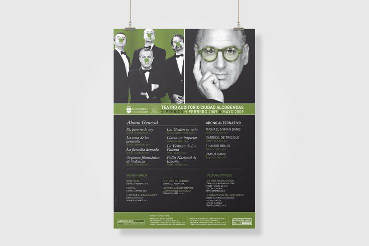 #Diseño de #cartel para el Teatro de Alcobendas. // #Poster #design.