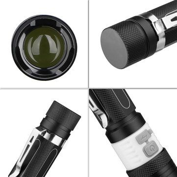ThorFire TA14 XM-L2 600LM Rechargeable Adjustable LED Flashlight 18650 Sale - Banggood.com
