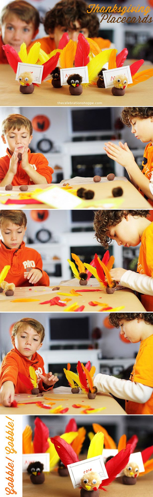 Kid Thanksgiving Craft with The Celebration Shoppe