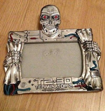 Terminator 2 / T2 3D - Universal Studios Photo Frame - RARE (09/27/2013)