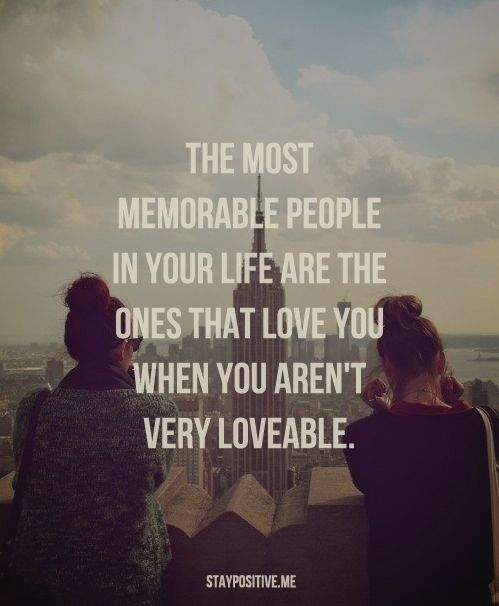 The most important people in your life.. this is so true