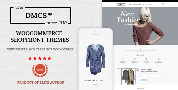 DMCS is the Minimal Fashion WordPress WooCommerce Theme. The theme is designed for eCommerce...
