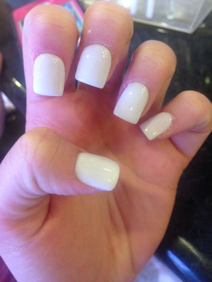 Ms de 25 ideas increbles sobre Plain acrylic nails en ...