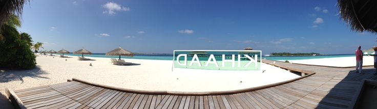 Kihaad resort Maldives.