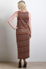 Tribal Triumph Maxi Dress