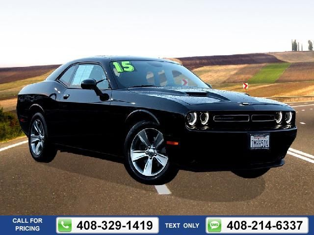 2015 Dodge Challenger SXT / R/T 5k miles Call for Price 5710 miles 408-329-1419 Transmission: Automatic  Dodge Challenger used cars SouthCountyChryslerJeepDodge Gilroy CA tapcars