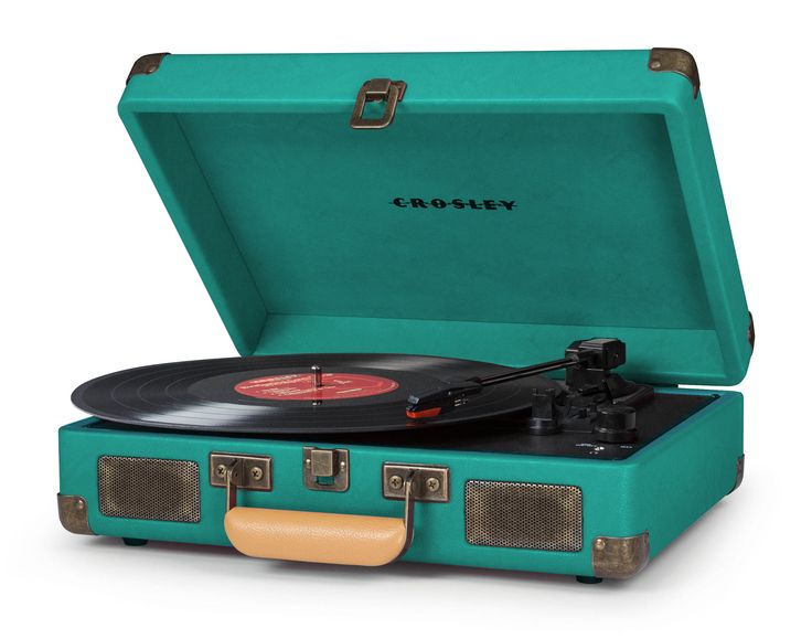 crosley x uo cruiser briefcase portable vinyl record player turquoise turntable and dark. Black Bedroom Furniture Sets. Home Design Ideas