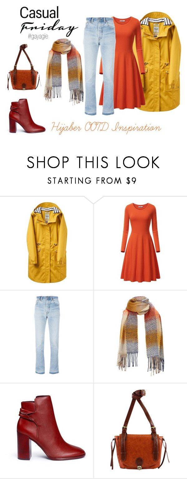 """""""Casual Friday"""" by anggiswastika on Polyvore featuring Joules, RE/DONE, Mercedes Castillo, Nu-G and gayagie"""