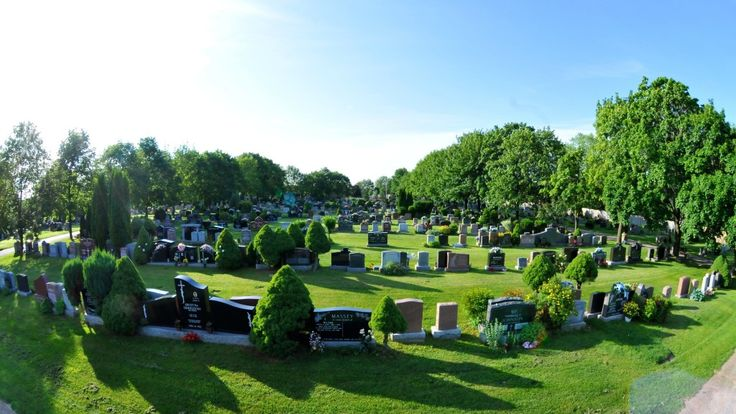 The grounds of St. John's Dixie Cemetery located in the city of Mississauga at the intersection of Dundas and Cawthra.