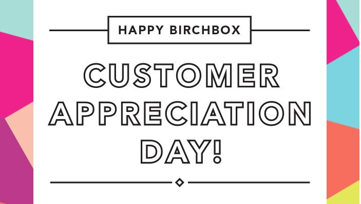Customer Appreciation Day at Birchbox Soho