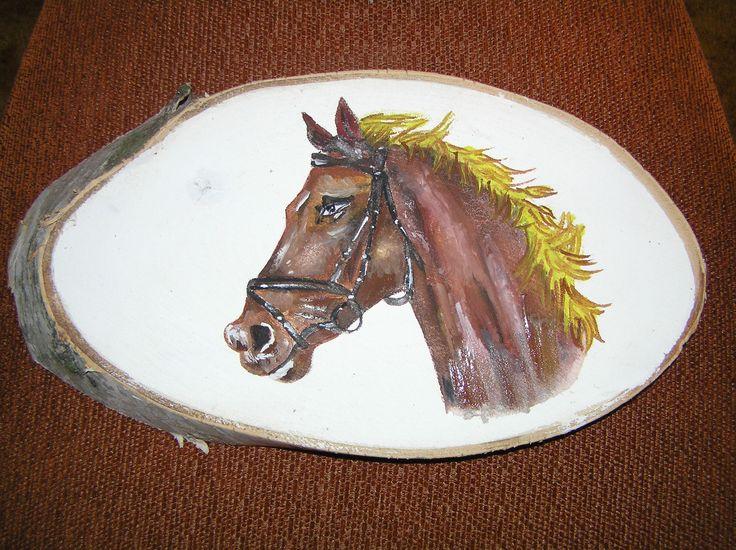 kůň blond