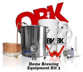 Complete Deluxe Starter Home Brewing Equipment Kit Canada -- All the standard necessary items to get you started in the hobby of homebrewing. Brew your own beer at home with OntarioBeerKegs' affordable equipment kits. Canadian Home Brew Store Online