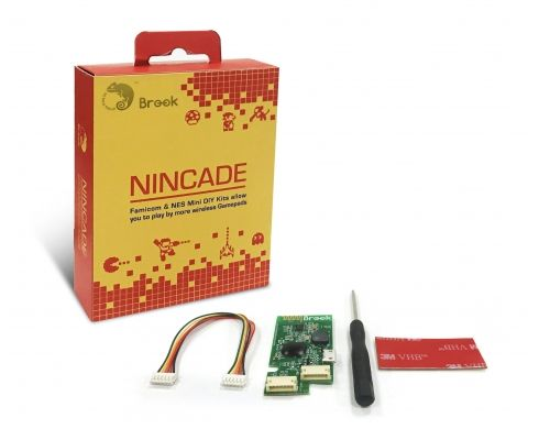 Nincade - It is no longer a dream to play NES games wirelessly. NINCADE let's you use PS4/8Bitdo(iCade mode)/iCade/Wii remote/Wii U Pro Wireless Gamepads to play NES Classic Edition and Nintendo Classic Mini Family Computer.