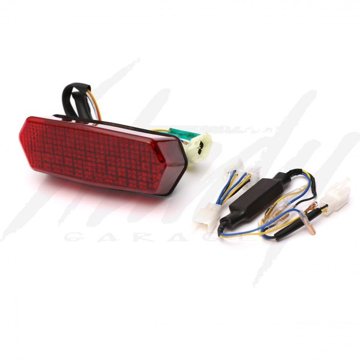 Chimera Red Edition Honda Grom 125 Integrated Tail Light
