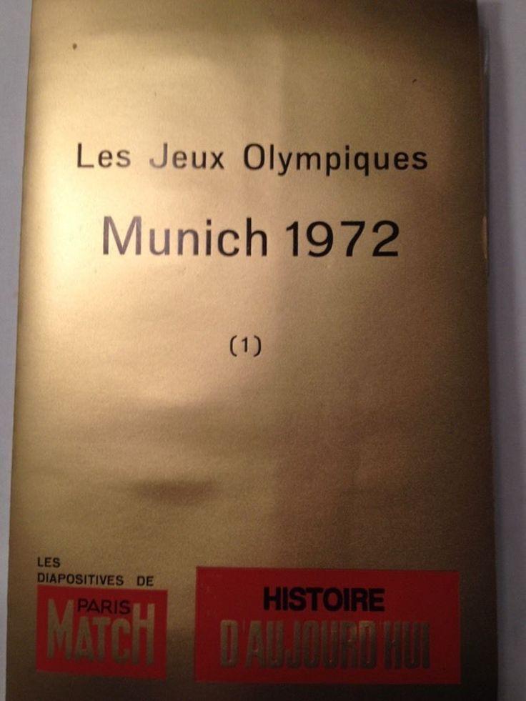 LES Jeux Olympiques Munich Israël 1972 Prise D'Otage Palestine Borzov Spitz AKI | eBay
