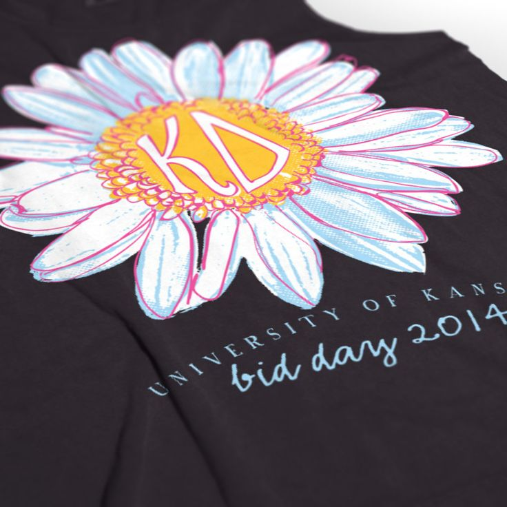 Kappa Delta - KD - Bid Day Design - KD Shirts - Sorority Shirts - check out b-unlimited.com
