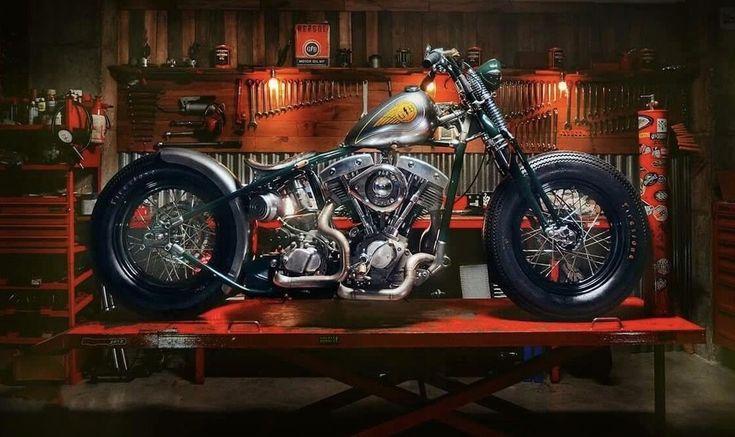 Harley Bobber Chopper #motorcycleharleydavidsonchoppers #harleydavidsonchoppers