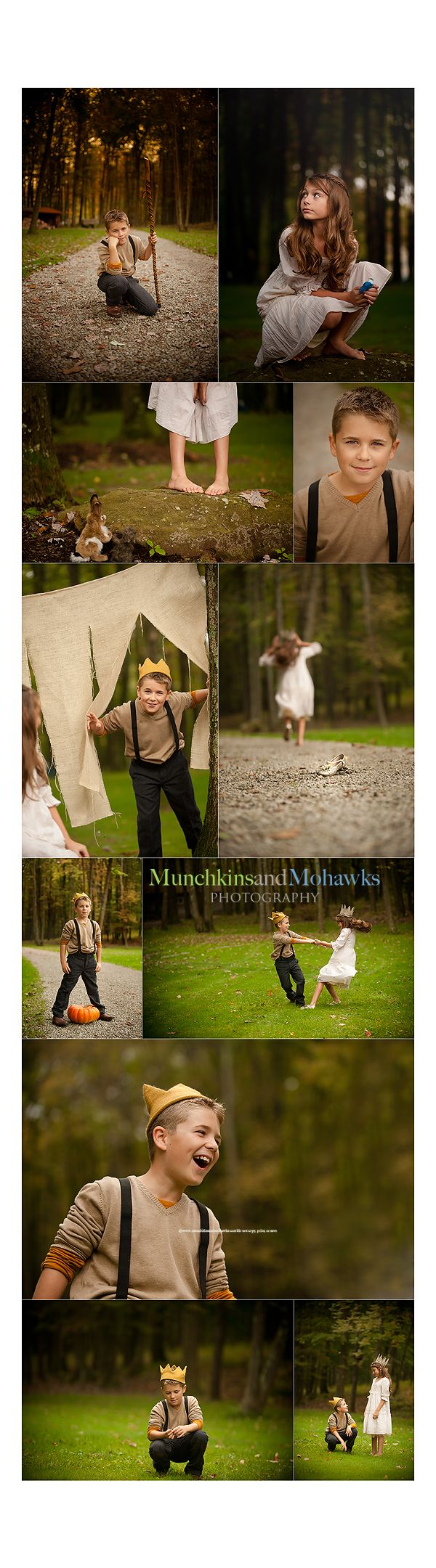 """Cinderella shoot.  I've been wanting to do a """"personal"""" themed shoot for a while now.  I find it interesting how this one uses older """"kids"""" than you might normally picture for a themed shoot."""