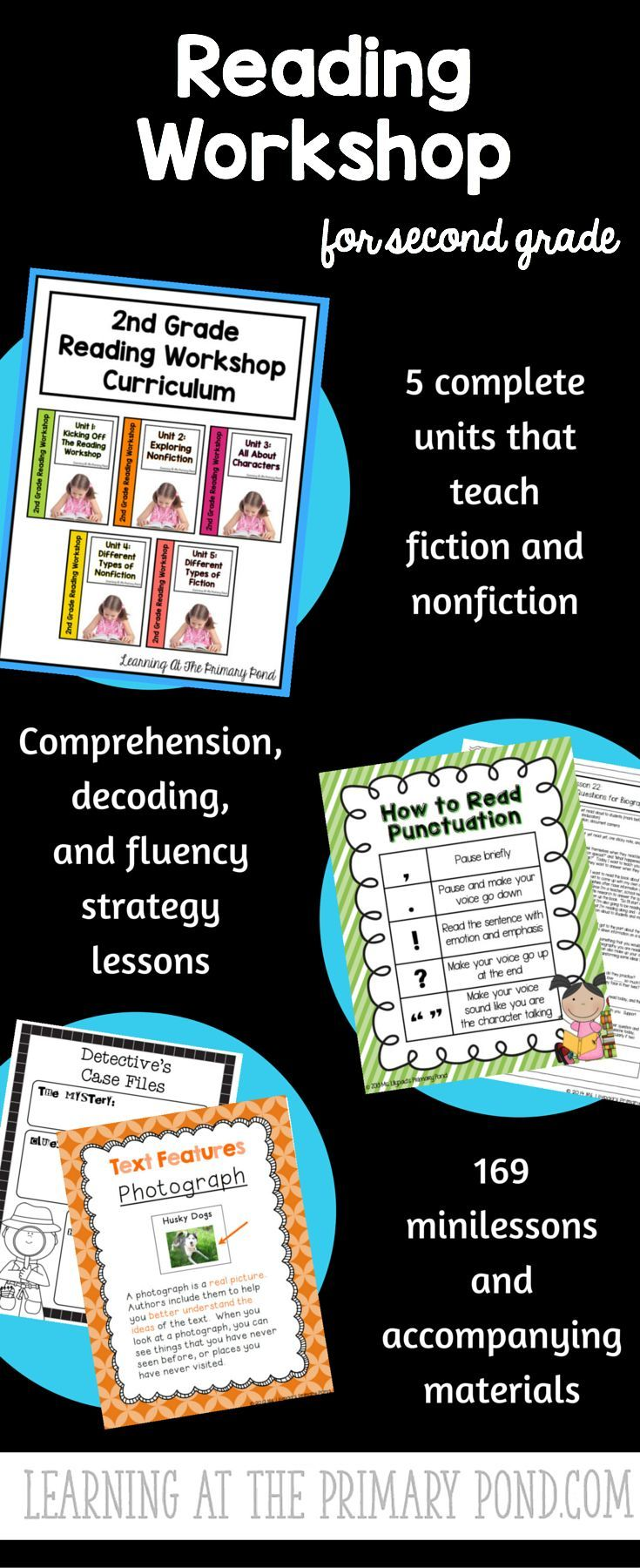 Worksheet Second Grade Reading Material 1000 images about daily five and literacy centers ideas on pinterest reading workshop minilessons comprehension decoding fluency skills posters printable materials rubrics more for