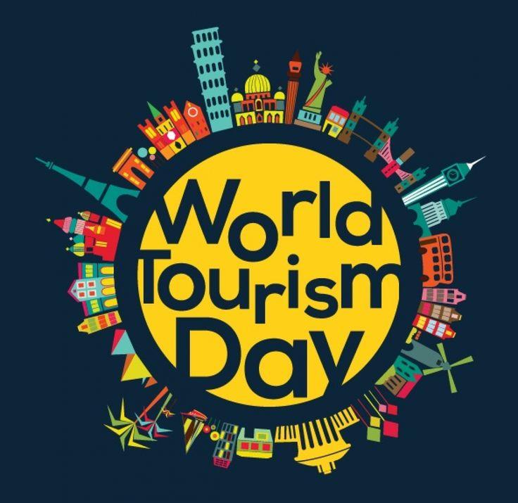 Wir feiern den Internationalen Tag des Tourismus! We celebrate the World Tourism Day!  Σήμερα γιορτάζουμε την Παγκόσμια Ημέρα Τουρισμού!