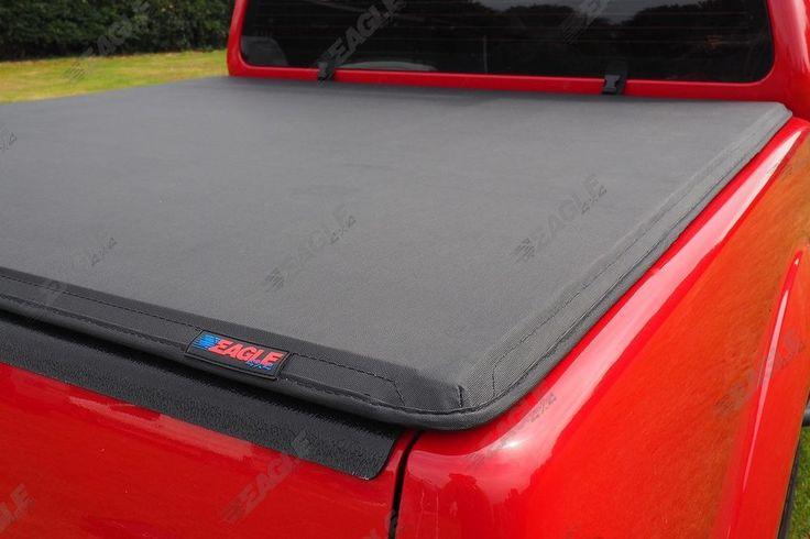 Nissan Navara D40 Hawk Hard Fold Tonneau Cover - Bed Cover 2005-2016 D/C