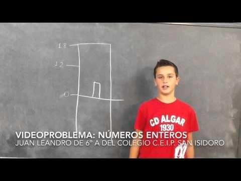 Juan Leandro números enteros - YouTube