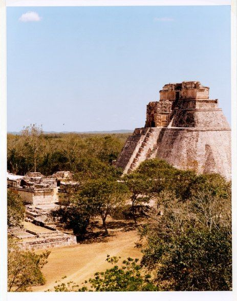 Less than forty miles from Mérida—an easy day-trip—is Uxmal, one of the most important cities of the ancient Maya. Built between A.D. 600 and 1000, the Pyramid of the Magician is unusual for its elliptical shape and steep steps (they climb at sixty degrees).: Merida Mexico, Mayan Culture, Weights Loss Tips, What Is The Food Pyramid Diet, Lose Weights, Diet Pyramid, Food Art, Photo, Culture Of Mexico