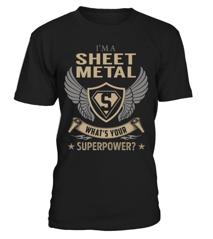 Sheet Metal - What's Your SuperPower #SheetMetal
