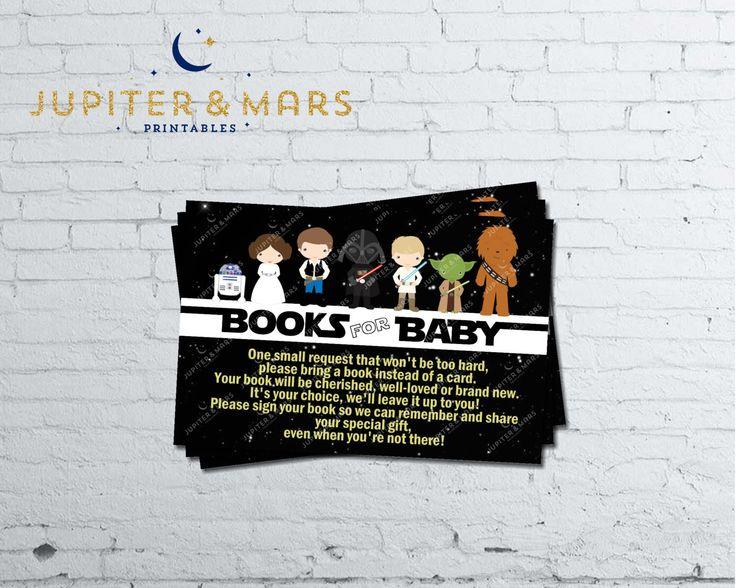 Star Wars Baby Shower Chidrenu0027s Book Insert Printable INSTANT DOWNLOAD By  JupiterAndMarsPrints On Etsy Https: