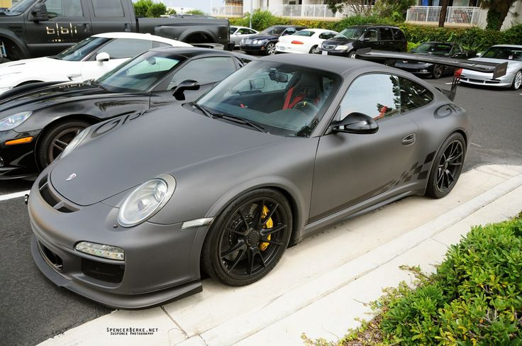 matte gray GT3RS (click for larger wallpaper size)