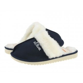 Papuci casa dama s.Oliver navy #homeshoes #cozy #Shoes