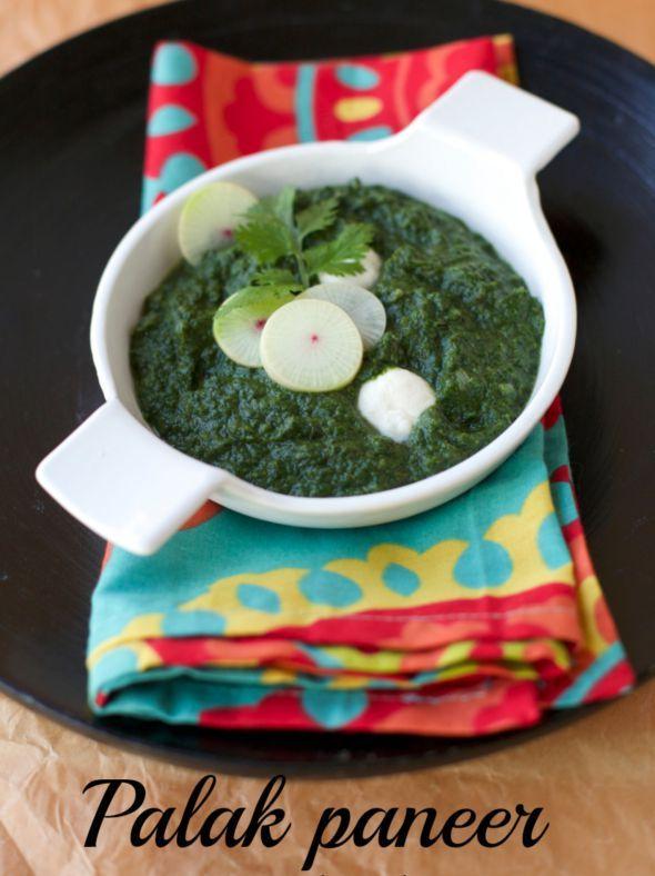 Espinacas estilo indio- Palak Paneer  | En mi cocina hoy