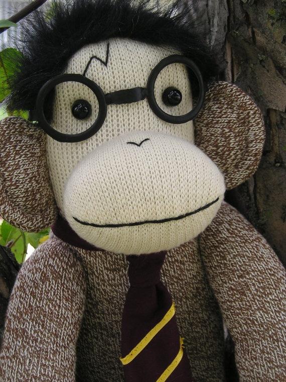 Harry Potter Sock Monkey Doll Limited Edition