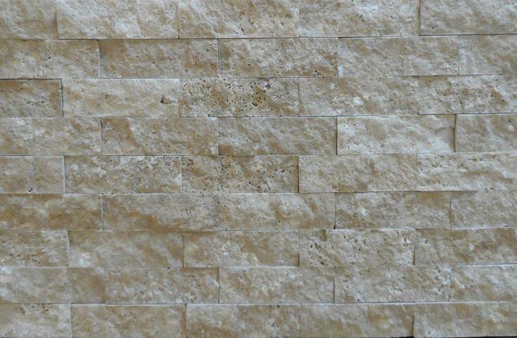 Noce Splitface - Feature Wall Decor - Real Marble from Turkey  - www.tru-stone.net Contact - info@tru-stone.net