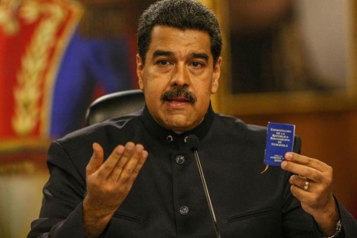 """<p>El presidente de Venezuela, Nicolás Maduro, dijo hoy que desveló un sistema informático con el que se buscaba """"impedir que se realizara las elecciones"""" de la Asamblea Nacional Constituyente (ANC), convocadas para el próximo 30 de julio.</p>"""
