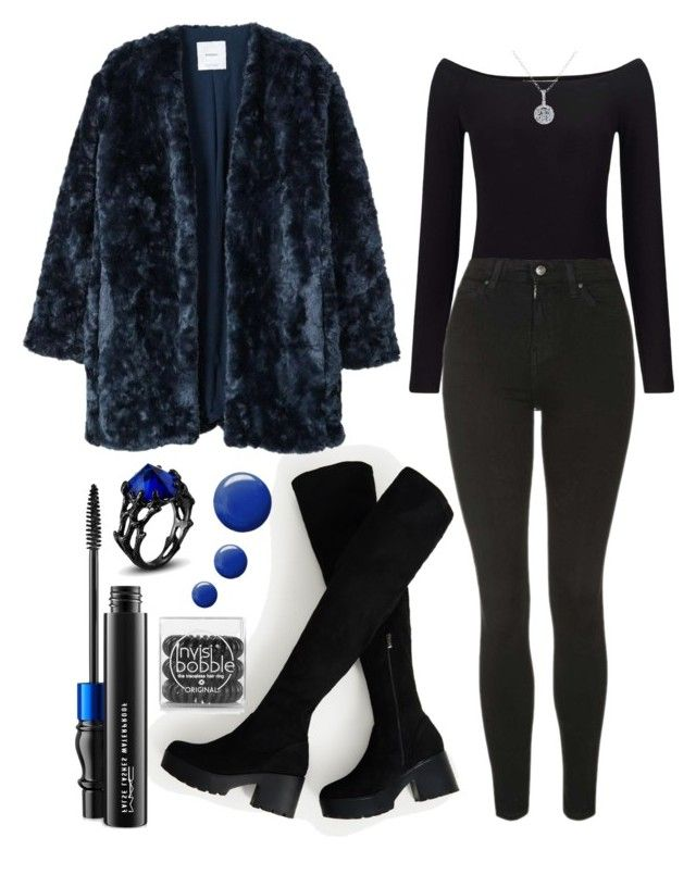 """outfit"" by kwharmony on Polyvore featuring Miss Selfridge, Topshop, MANGO, MAC Cosmetics and EWA"