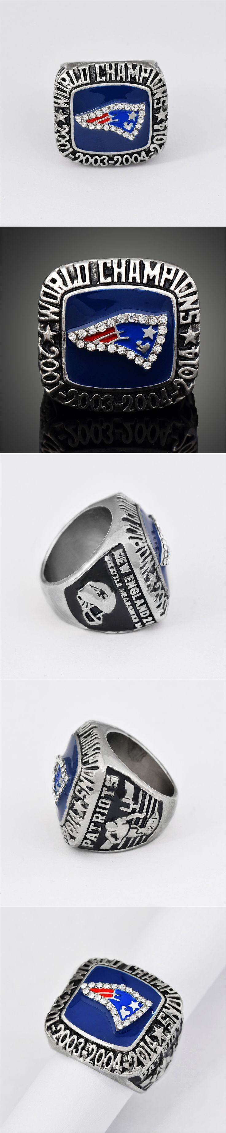 2014 New England Patriots Super Bowl XLIX Fans Ring Excellent Replica Sport Ring For Fans Collection Gift Men Jewelry J02120