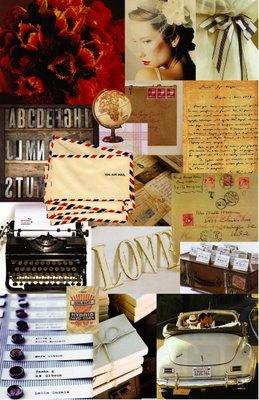"travel ""mood board"" - vintage travel"
